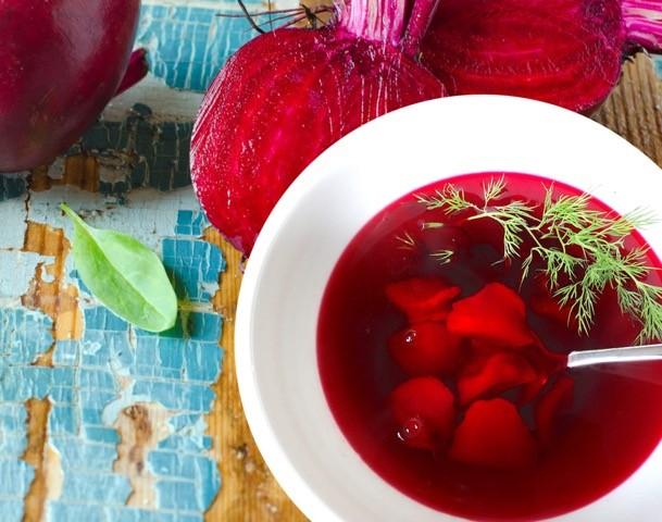 Vegan Red Borscht  by  Project Wellness Now