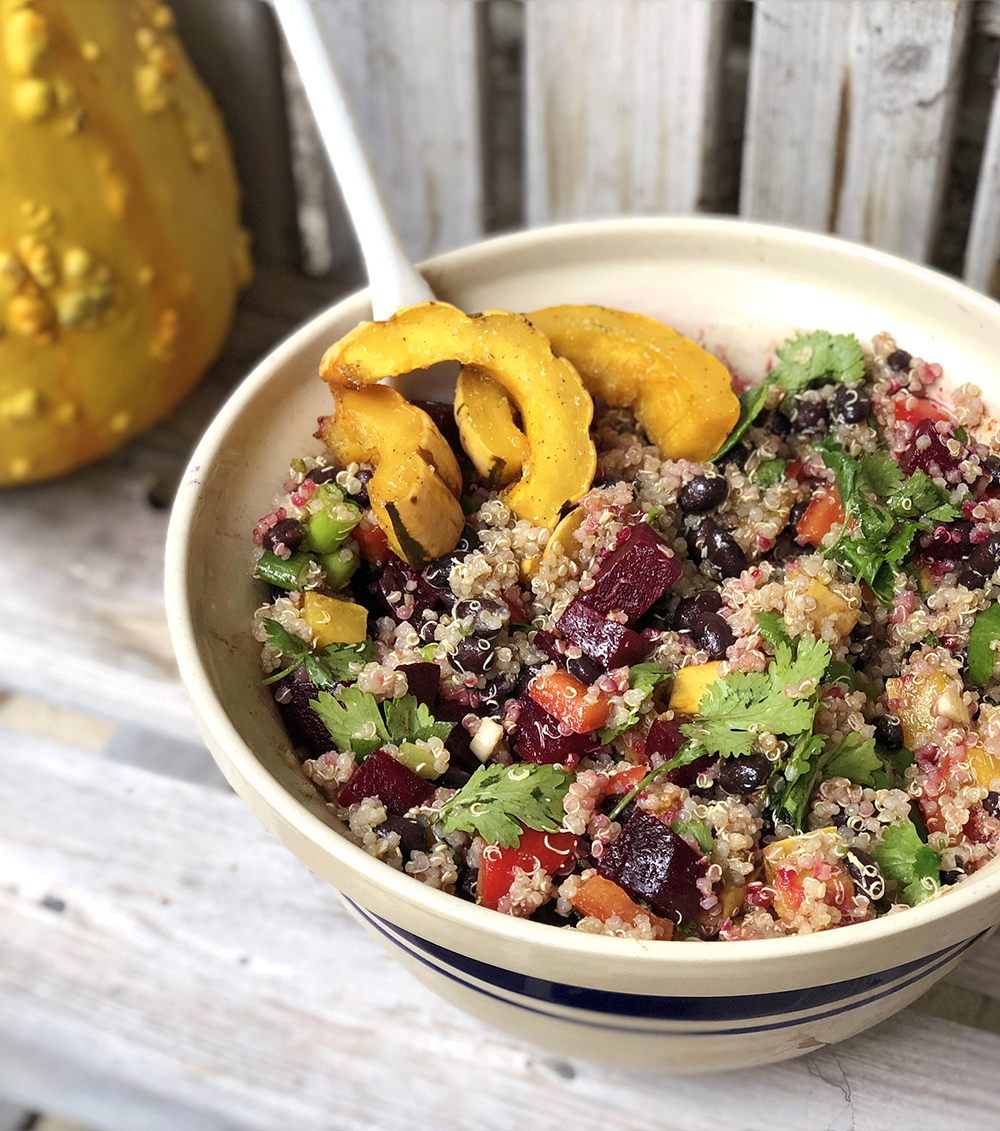 gluten free quinoa and roasted beet with delicata squash salad.jpg