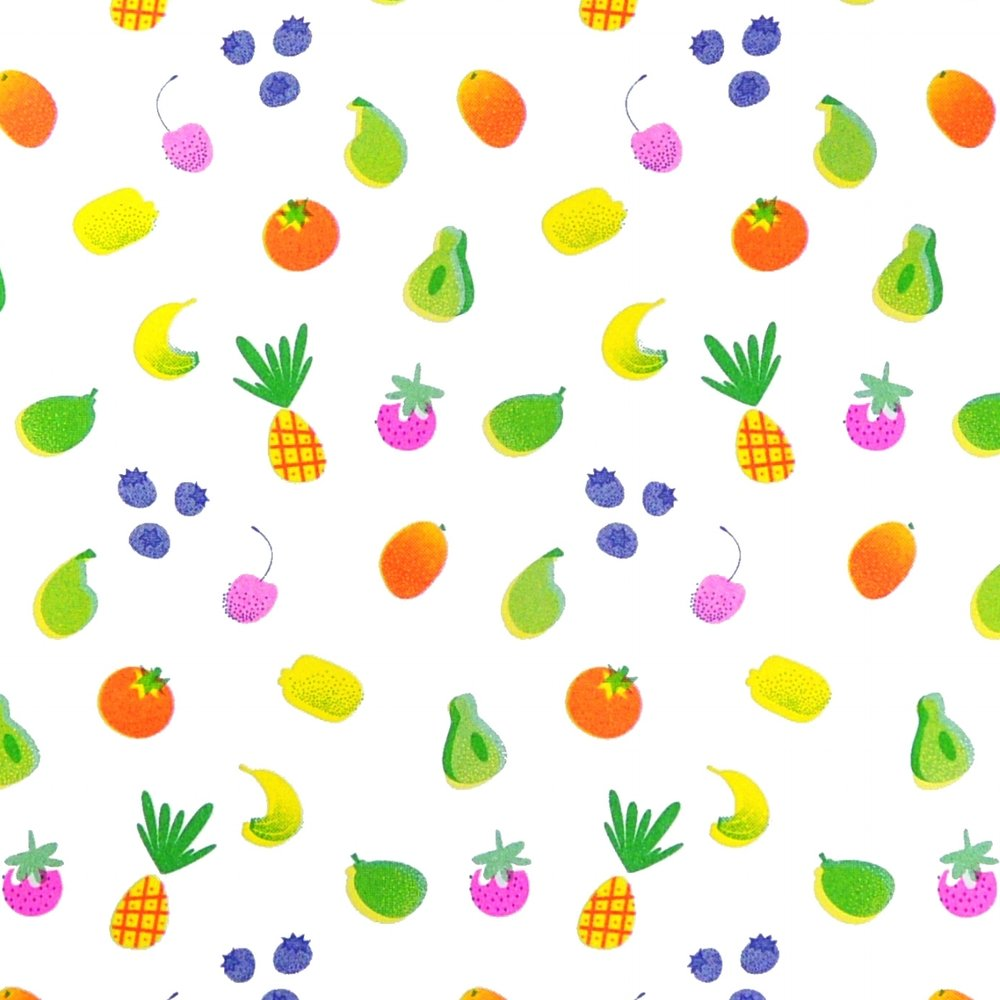 RISO Fruit pattern