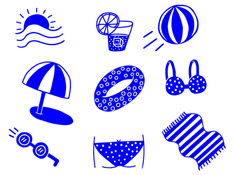 Beach Illustrations