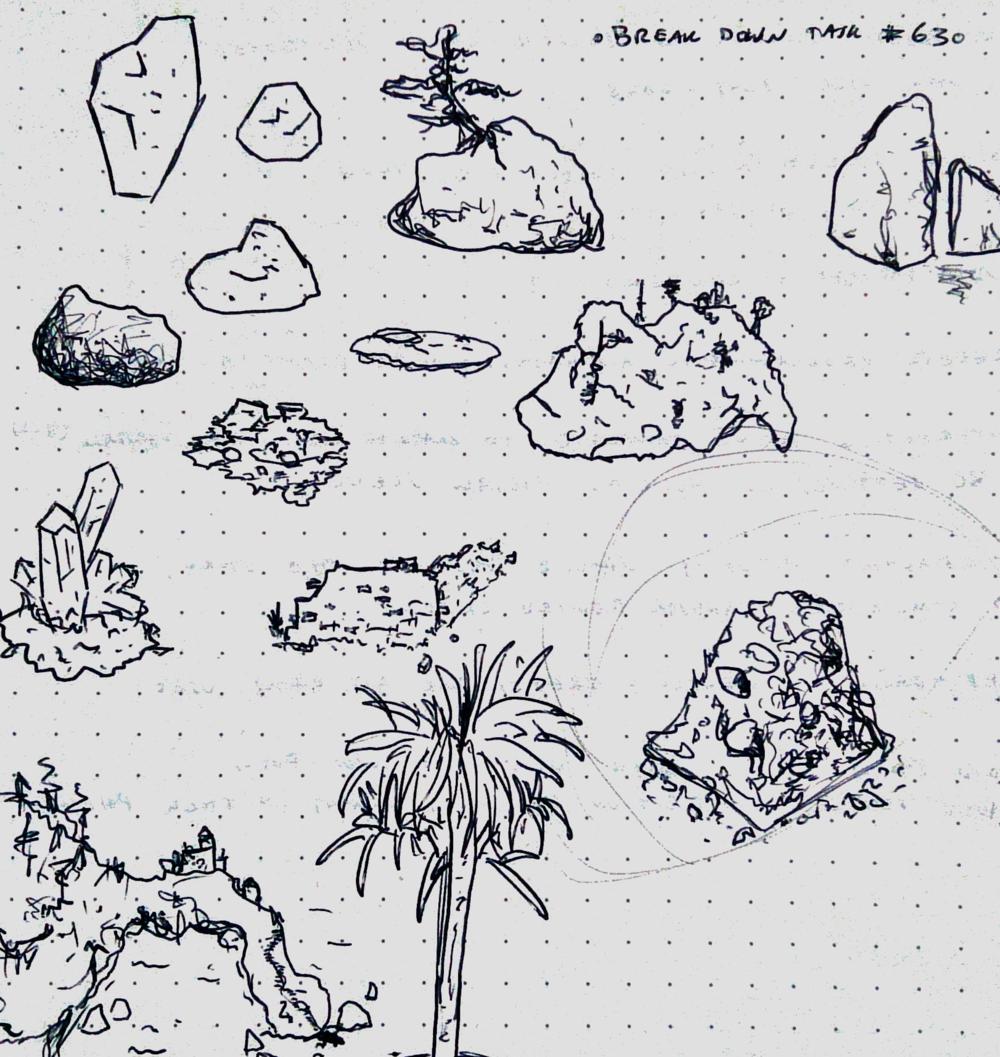 Doodling rocks!