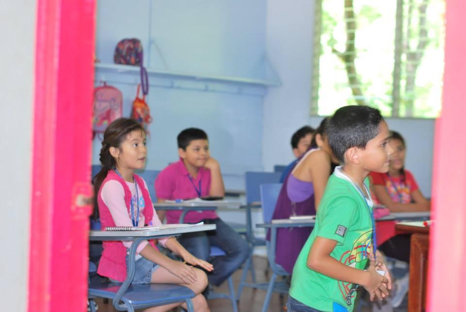 Niños participativos