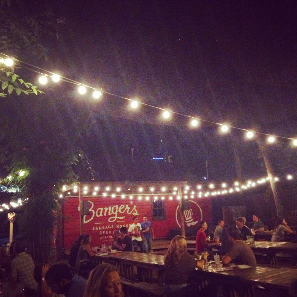 Austin's outdoor dining scene is unbeatable.