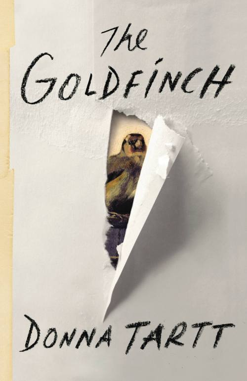 The Goldfinch     by Donna Tartt; design by Keith Hayes (Little, Brown)
