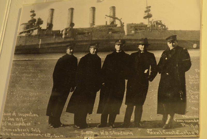 Sharp dressed Maritime Men