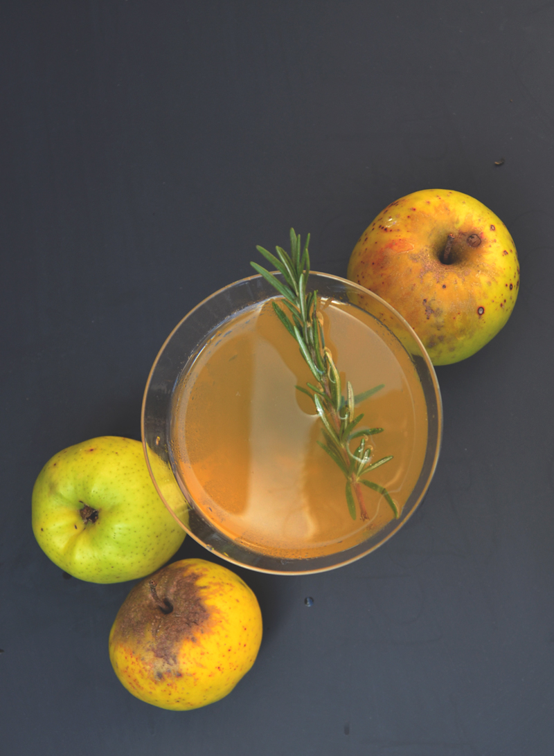 Rosemary Apple Martini