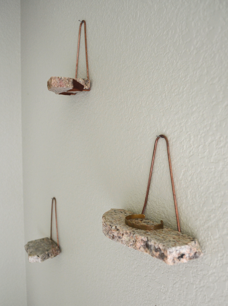 rock shelves