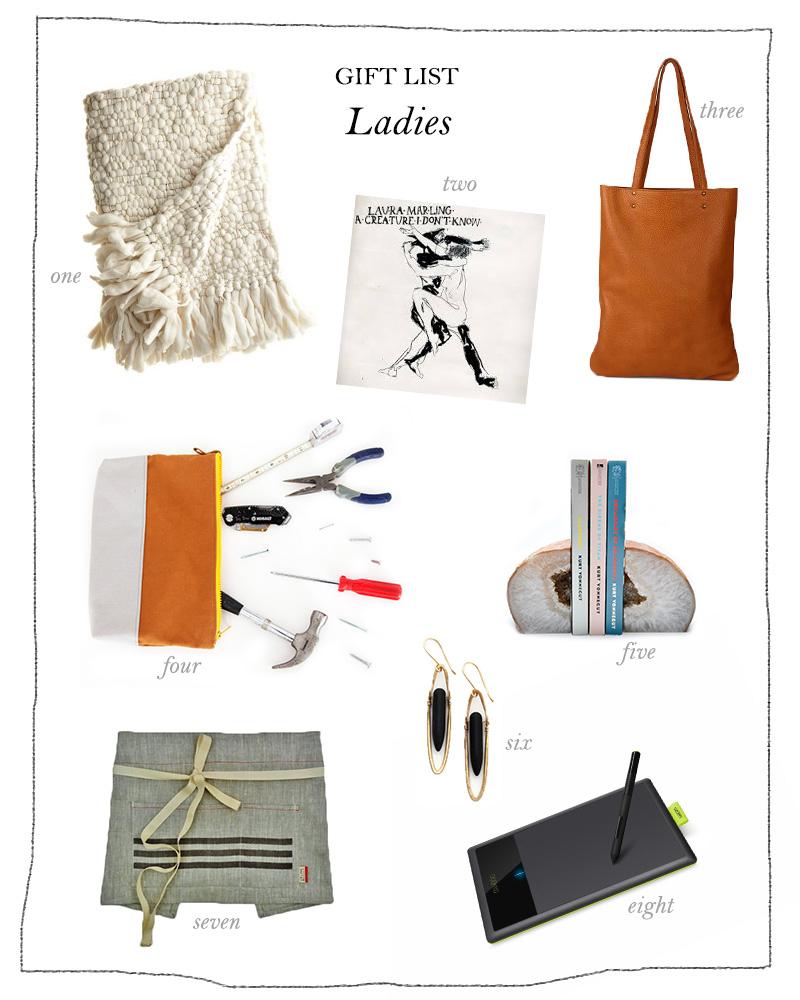 ladies gift list