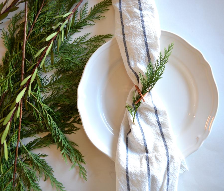 DIY Copper napkin ring