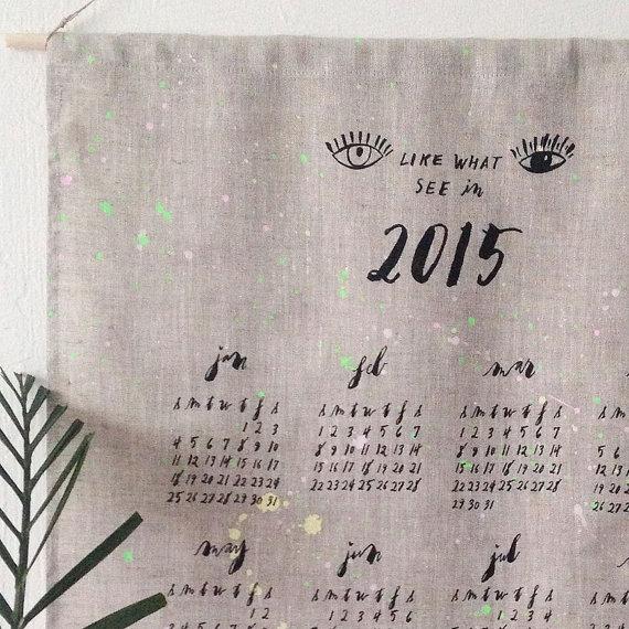 lineacarta 2015 calendar