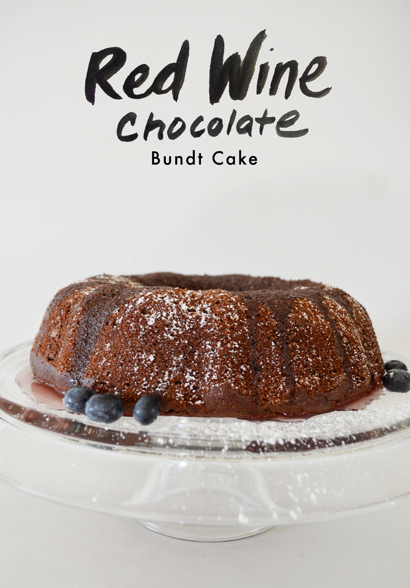 Red Wine Chocolate Bundt Cake (Gluten Free) — Fern & Fog
