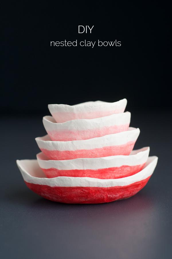 diy nesting bowls