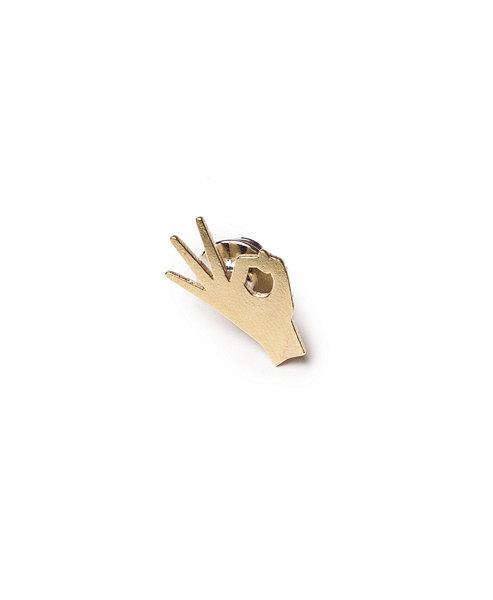 A-Ok pin via casamalaspina