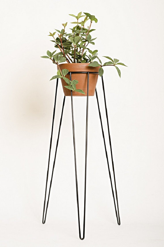 metal wire plant stand : Wirely Home