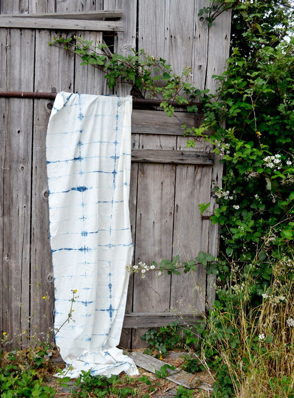 Shibori Tablecloth DIY