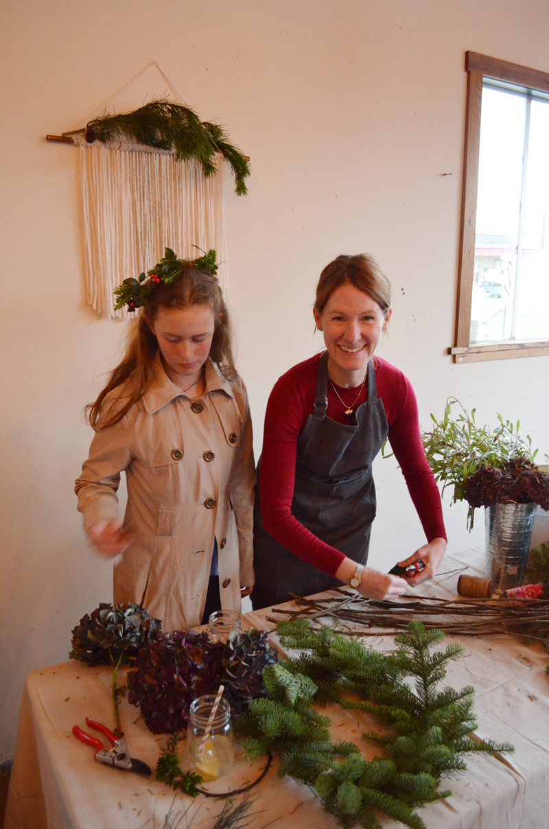 Fern & Fog Wreath Making Workshop