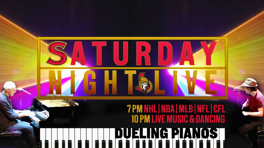 Dueling Pianos Saturday Night