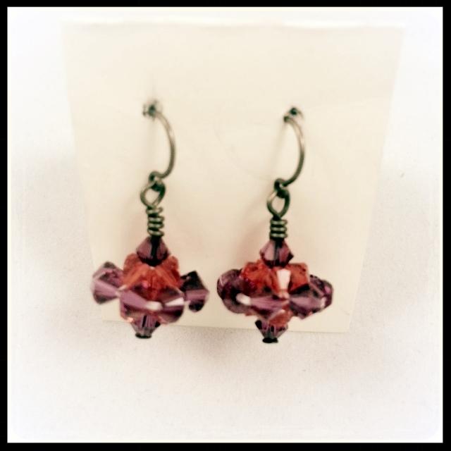 Cosmic Crystal Earrings