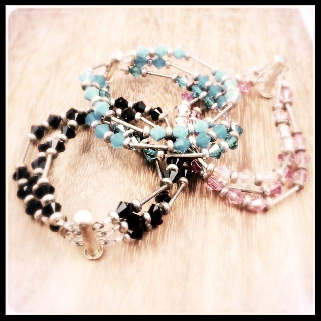 Three Strand Clasp Bracelet