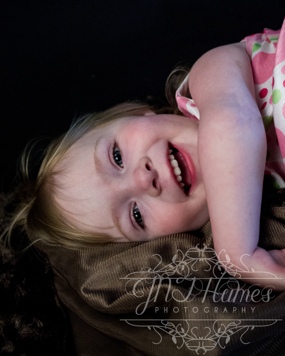 Such a beatiful smile from Little Miss Kymy