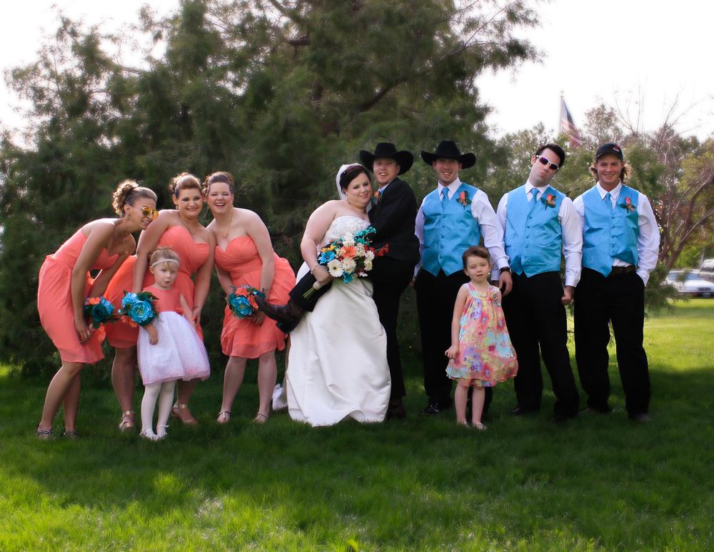 Wolfe-Robinson Wedding Party