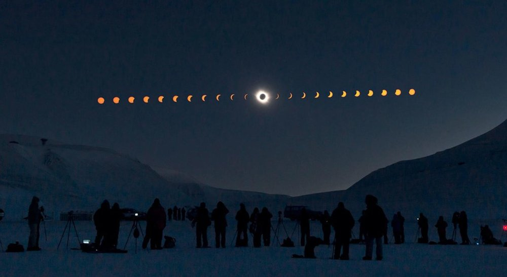 2015 Solar Eclipse: Svalbard, Norway. PHOTOGRAPH BY STAN HONDA