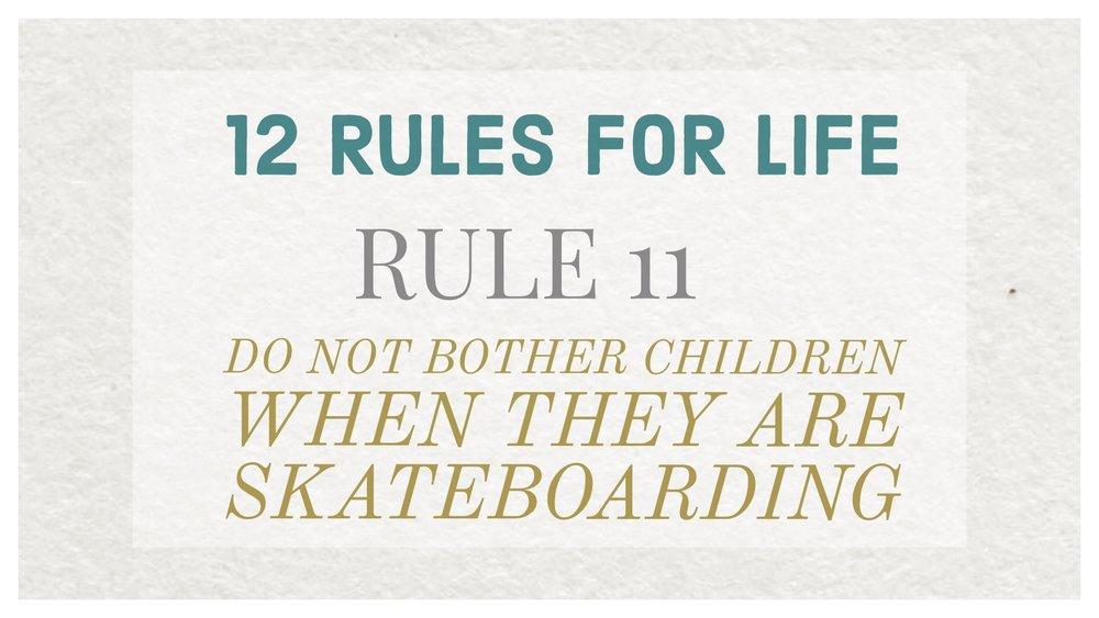 Jordan Peterson 12 rules
