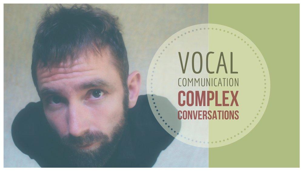 Vocal Fry Conscious Communication