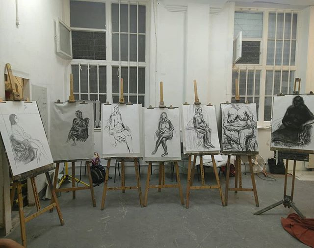 My creative mix class @theartacademylondon made some great drawings yesterday, nice work guys  #artacademytutors