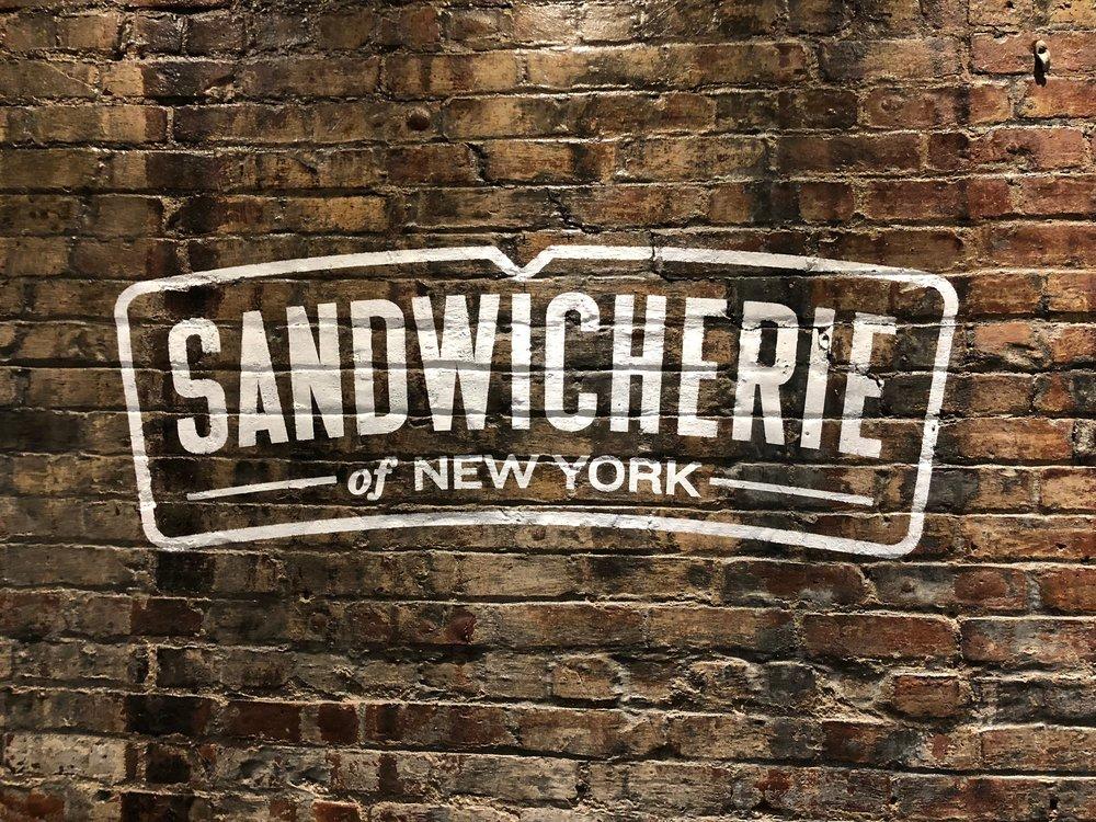 Sandwicherie of New York