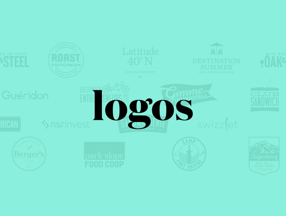 A Collection of Logos that we have Designed