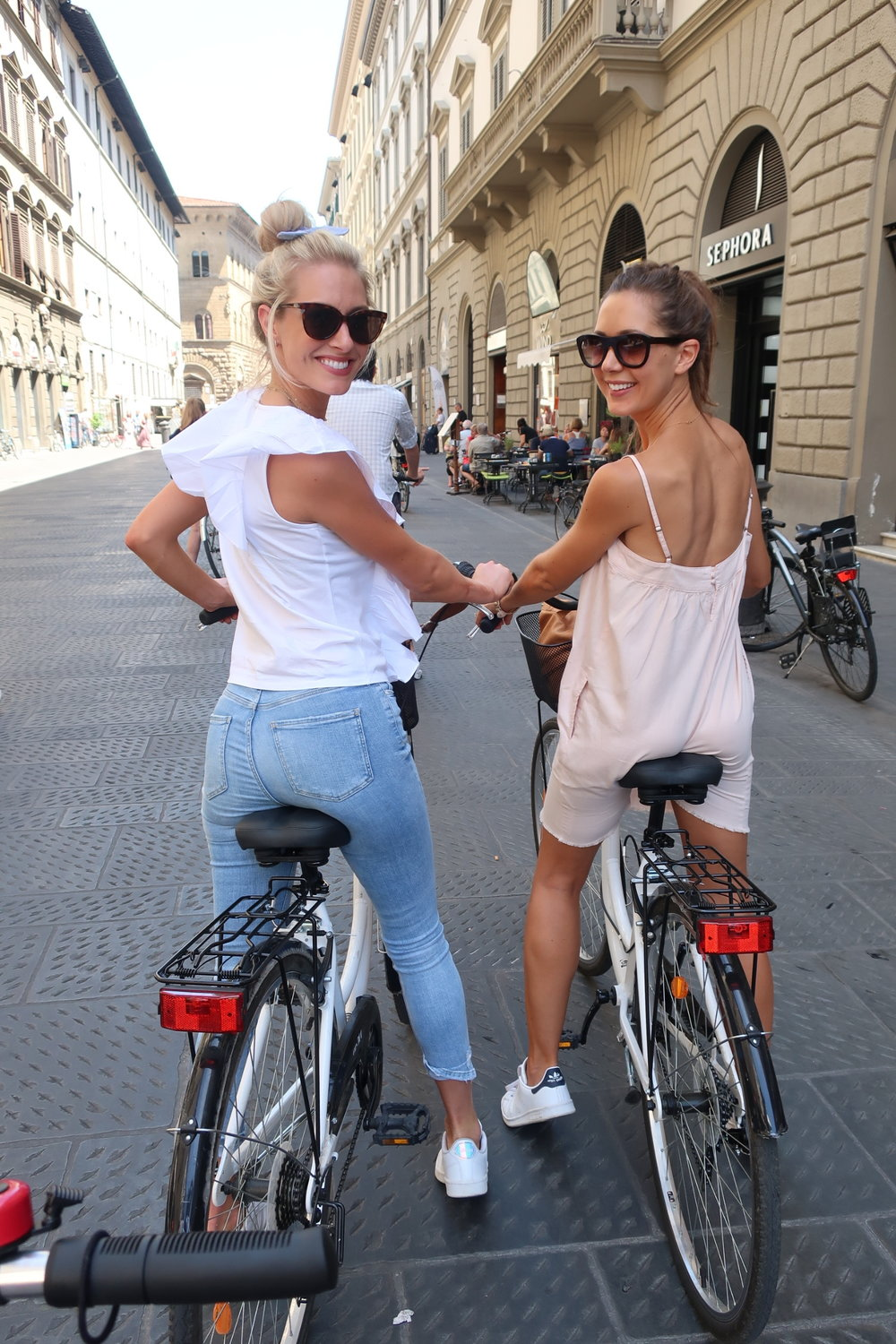 biking in florence