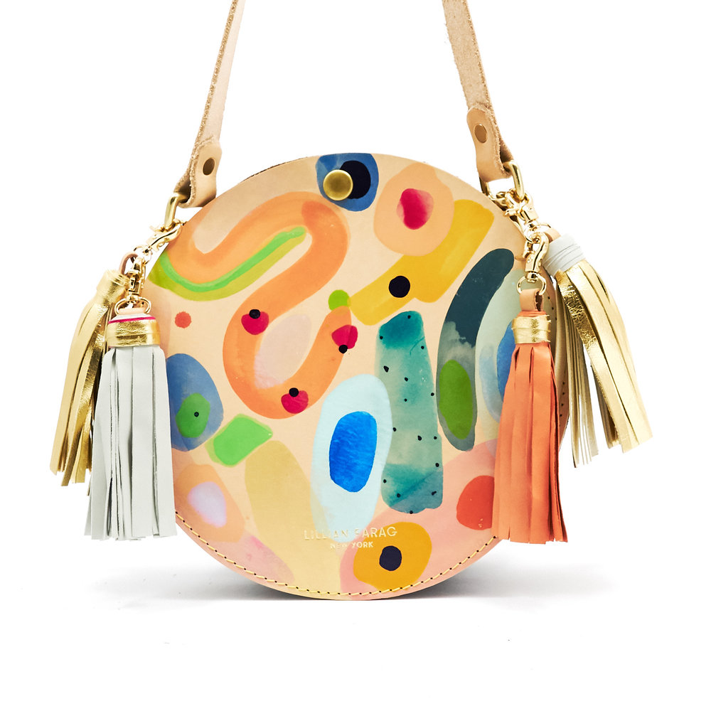 lillian farag painted purses
