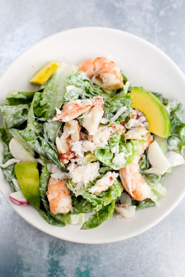 Avocado Lobster Salad