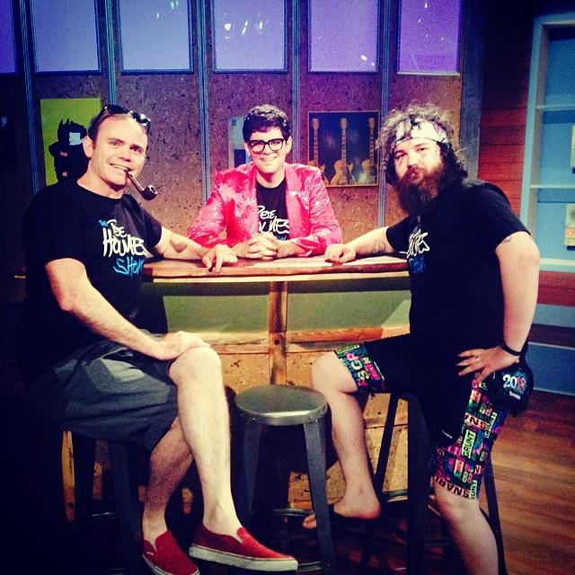Seth Clark, Brad Conlin & myself.