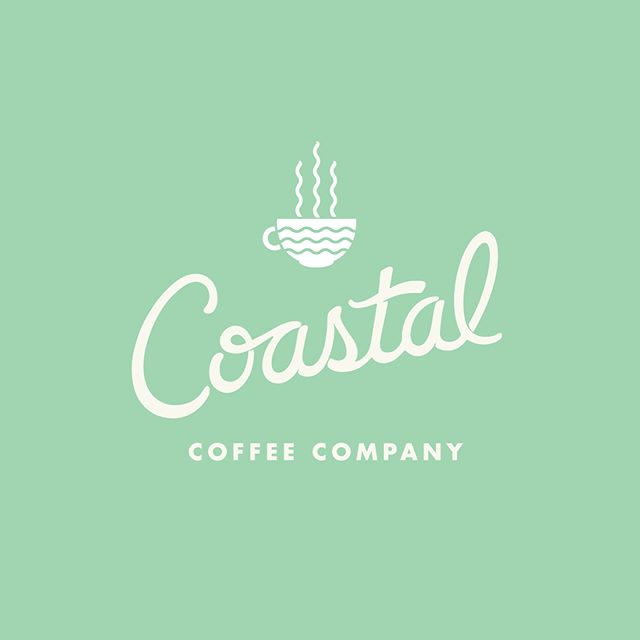 Stoked to see this branding/logo package I did come to life at @coastalcoffeelbi ! Place is packed and the coffee, espressos, acai, and everything in between is 👌. Check 'em out in downtown Beach Haven this Memorial Day weekend.