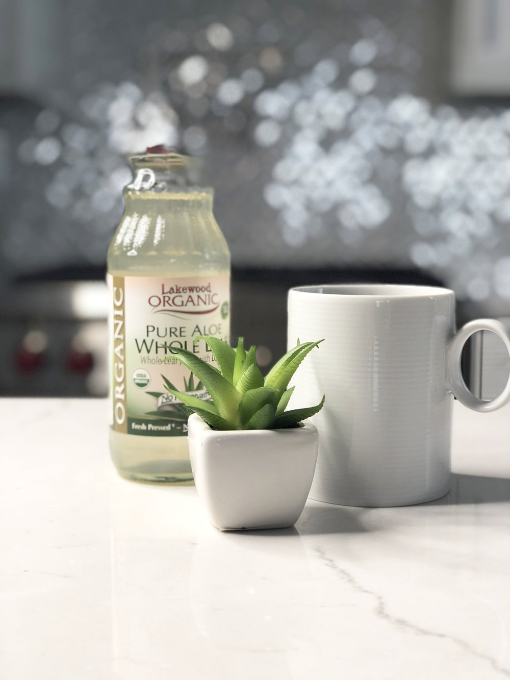 Aloe Vera Juice With Your Morning Coffee