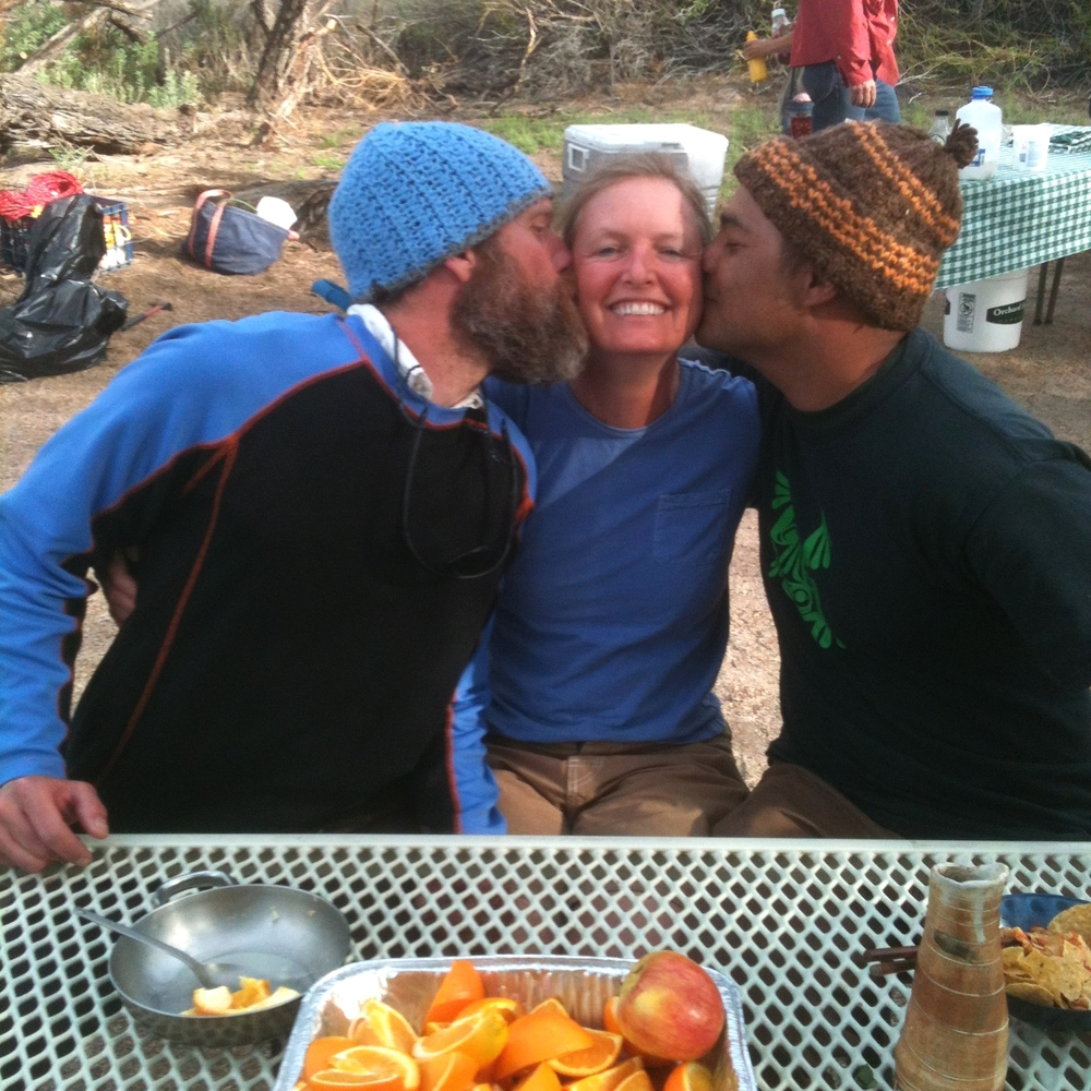 Fellow Wilderness Guides. It's so good to be loved!!