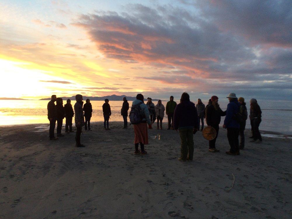 Grief-Tending Ritual, Great Salt Lake
