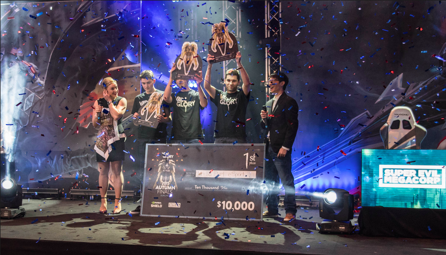 Team Media Pixel won the Autumn Season 2015 Championships