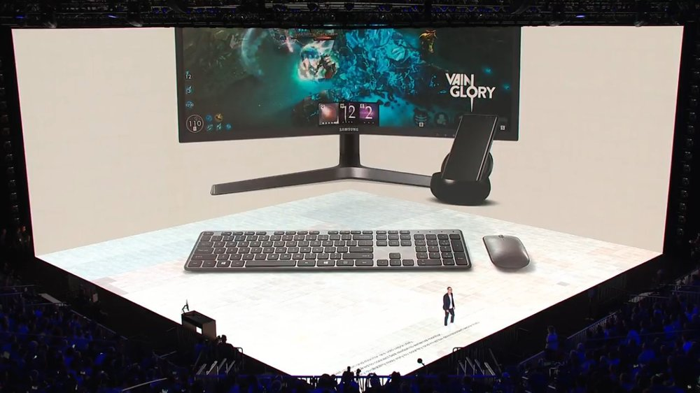 Vainglory presented at the Samsung Unpacked Event in New York on August 23