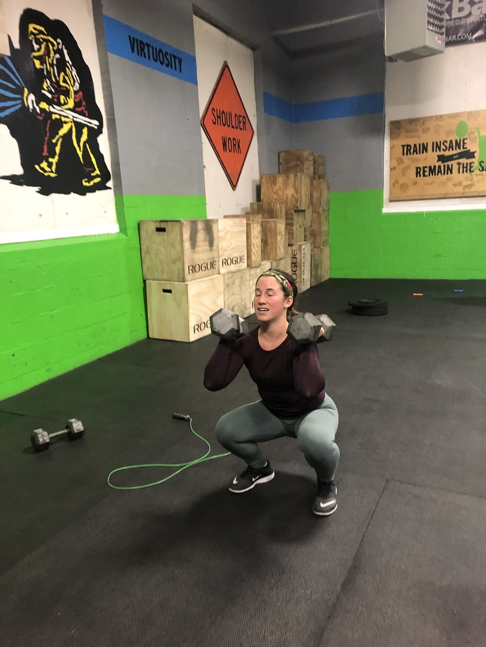 Class Times 4:30/5:15/8:30 & 6:00     Mod - Press Complex     Wod  42- 36 - 30- 24-18-12-6 KB Swings (26/35)   21 - 18 - 15 - 12 - 9 -6-3 Thrusters (65/95)   7 - 6 - 5 - 4 - 3 - 2 - 1 TTB     Ex: 42KB swing 21 Thrusters 7 TTB ...