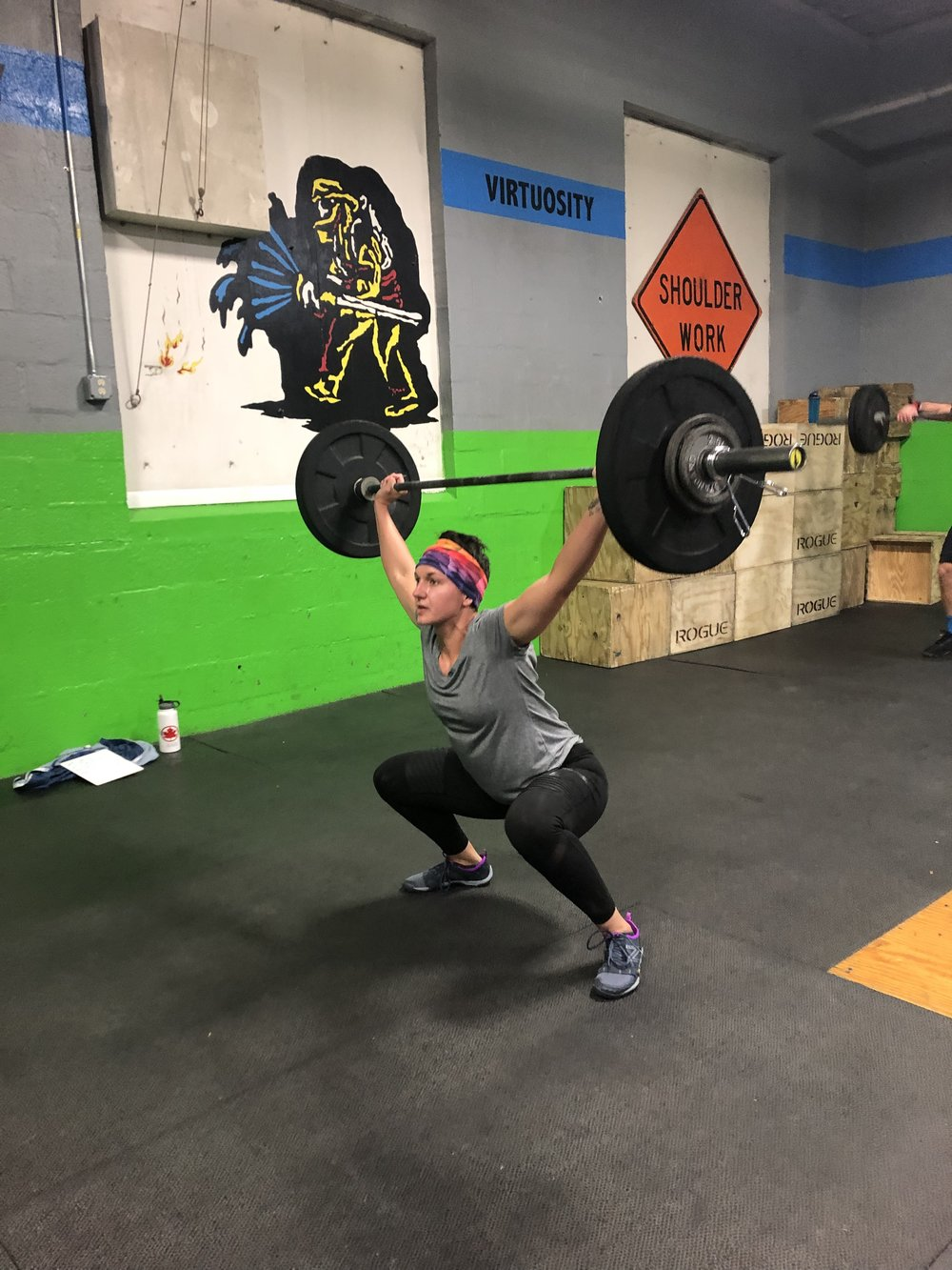Saturday morning class at 8:30 with Coach SHallon  Wod - Team 3 (30:00 Time Cap)  3 Rnds  40 Cal on Bike  40 HSPU  Then  30 C&J 85/125  30 C&J 95/135  30 c&j 105/145  30 C&J 115/155  30 C&J 125/165  30 C& J 135/185     Skill Work  Pull ups/ CTB Pull ups / MU