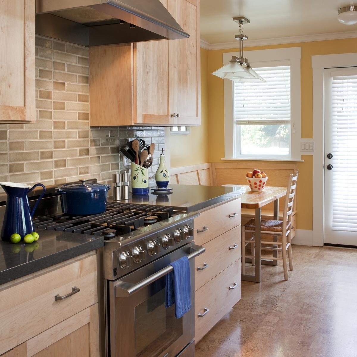 kitchens sustainable home interior design back door kitchen