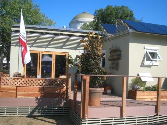 The SC Solar Decathlon house in Wasington DC