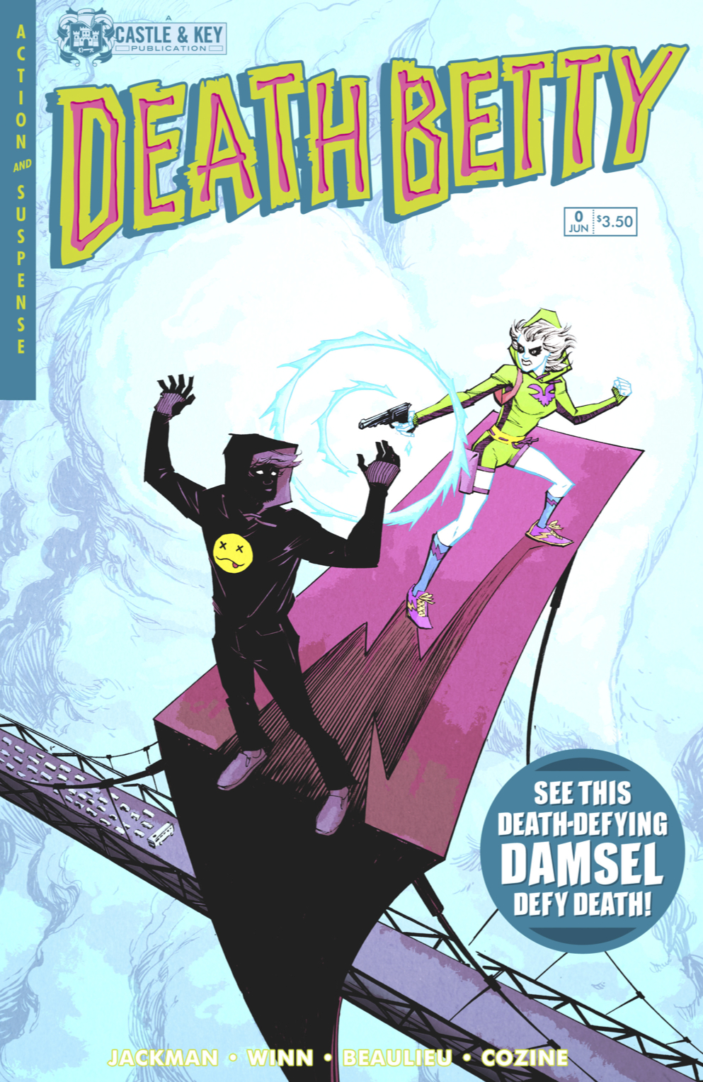 CLICK HERE and the cover of Death Betty Issue # Less Than Zero will fill your screen.