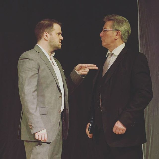 What's going on between these two? Book tickets now to find out! #Theatre #TheLastStop #SecondPlay #Northwich #Cheshire #LocalTheatre #OriginalPlay #HarlequinTheatre