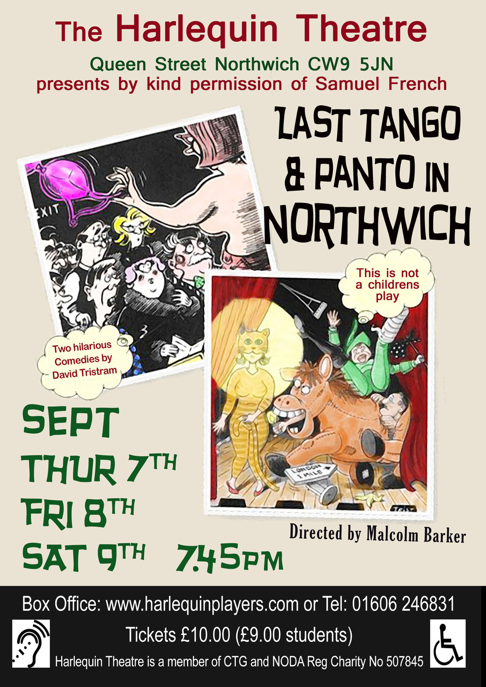 Last Tango and Panto in Northwich - by David Tristram
