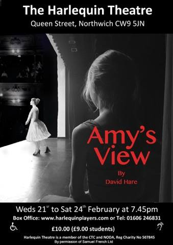 Amy's View - by David HareAmy's View was written by British playwright David Hare. The play takes place in Berkshire near Pangbourne, and in London, from 1979 to 1995. Over the course of these sixteen years,