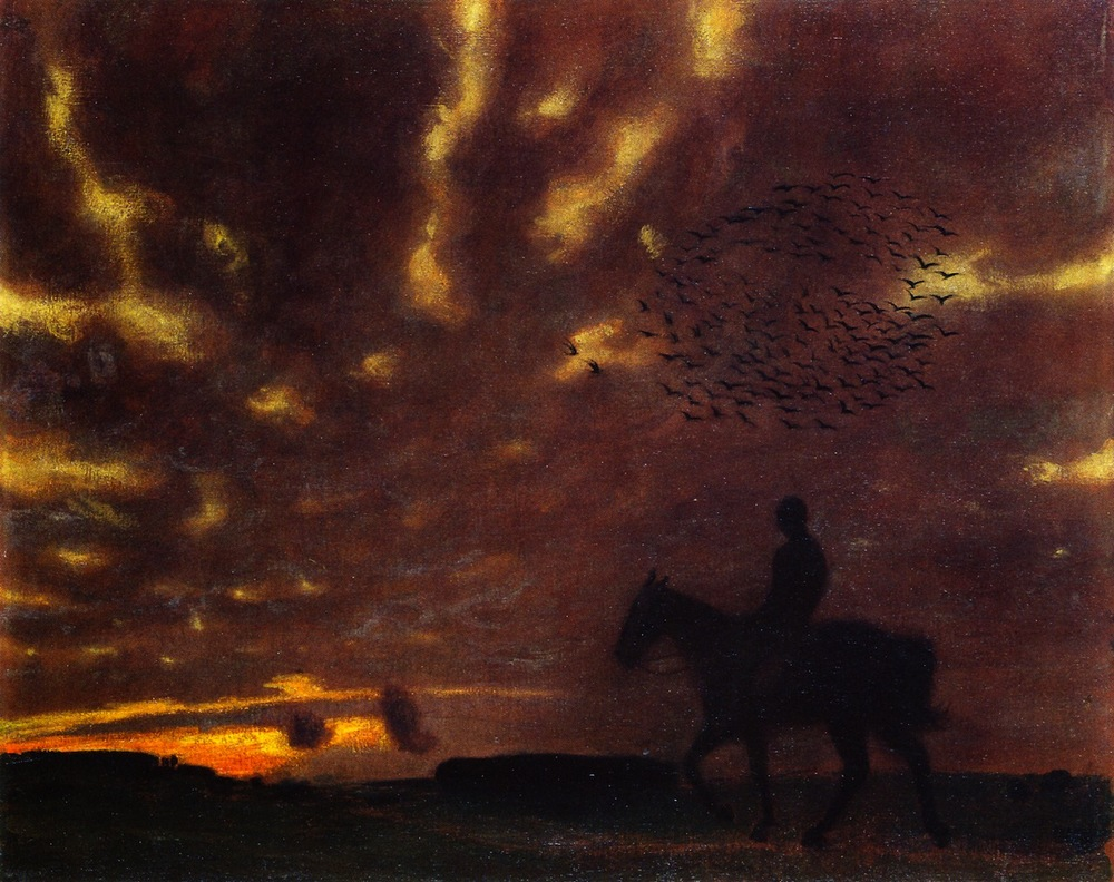 Franz von Stuck, Autumn Evening 1900